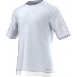 T-shirty męskie: Adidas Koszulka piłkarska męska Estro 15 szaro-biała r. XL (S16151)