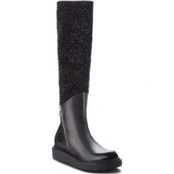 Kozaki EVA MINGE - Masnou 4A 18AS1372522EF 601. Czarne buty zimowe damskie Eva Minge, z materiału. W wyprzedaży za 649,00 zł.