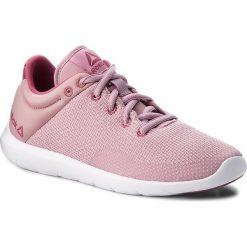 Buty Reebok - Studio Basics CN4870 Infused Lilac/Berry/White. Szare buty do fitnessu damskie marki Reebok, z materiału. W wyprzedaży za 159,00 zł.