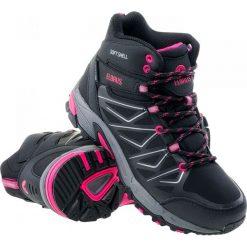 Buty trekkingowe damskie: ELBRUS Buty damskie Gabby Mid WP Black/Fuchsia  r. 40