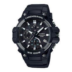 Zegarek Casio Męski Chronograf MCW-110H-1AVEF. Czarne zegarki męskie CASIO. Za 350,14 zł.