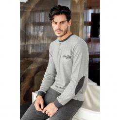 PIżama męska ENRICO COVERI Grey. Szare piżamy męskie Astratex, m, z dzianiny. Za 128,99 zł.