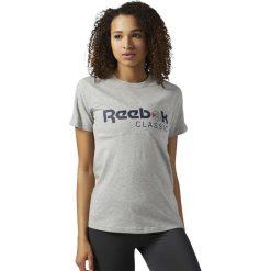 Koszulka Reebok Classic Graphic Tee (BS3728). Szare bluzki damskie marki Reebok, l, z dzianiny, casualowe, z okrągłym kołnierzem. Za 64,99 zł.