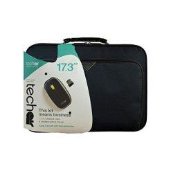 """Torba TechAir do laptopa 17.3"""" + mysz bezprzewodowa (TABX416R). Czarne torby na laptopa marki TechAir. Za 109,30 zł."""