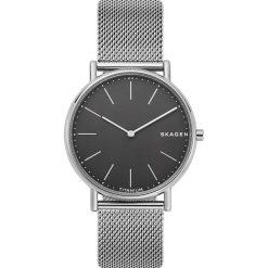 Zegarek SKAGEN - Signatur Titanium SKW6483 Silver/Silver. Szare zegarki męskie Skagen. Za 849,00 zł.