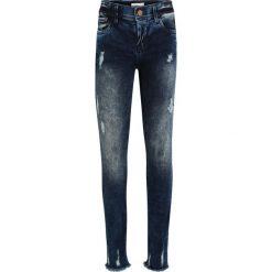 Name it NITTENDI  Jeans Skinny Fit dark blue. Niebieskie jeansy dziewczęce Name it, z bawełny. Za 149,00 zł.
