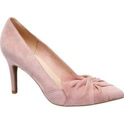 Szpilki: szpilki damskie 5th Avenue różowe