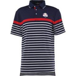 Polo Ralph Lauren Golf SHORT SLEEVE Koszulka sportowa navy/white/red. Niebieskie koszulki do golfa męskie Polo Ralph Lauren Golf, m, z elastanu. Za 419,00 zł.