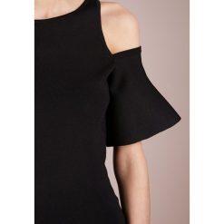 MICHAEL Michael Kors Tshirt z nadrukiem black. Czarne t-shirty damskie marki MICHAEL Michael Kors, xs, z nadrukiem, z elastanu. W wyprzedaży za 455,20 zł.