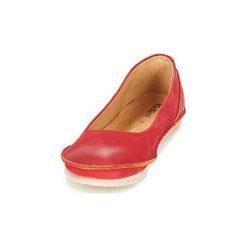 Baleriny Kickers  MYBALERINA. Czerwone baleriny damskie lakierowane Kickers. Za 351,20 zł.