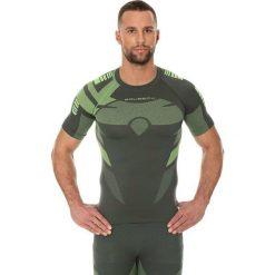 Koszulki sportowe męskie: Brubeck Koszulka męska DRY zielona r. XXL (SS11970)