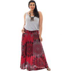 Odzież damska: Spódnica w kolorze czerwonym