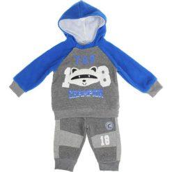 Spodnie niemowlęce: 2-częściowy zestaw w kolorze niebieskim
