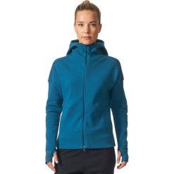 Adidas Bluza damska ZNE Hood2 Pulse niebieska r.S (BQ0117). Niebieskie bluzy sportowe damskie Adidas, s. Za 243,58 zł.
