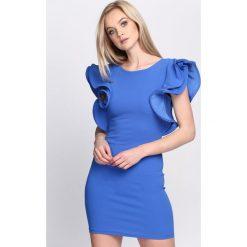 Niebieska Sukienka Violet Garden. Niebieskie sukienki hiszpanki Born2be, na lato, s. Za 64,99 zł.