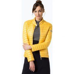 Bomberki damskie: Frieda & Freddies - Damska kurtka pikowana, żółty