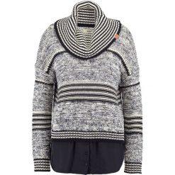 Swetry klasyczne damskie: khujo VANNI Sweter black/white