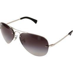 Okulary przeciwsłoneczne męskie: RayBan Okulary przeciwsłoneczne silver