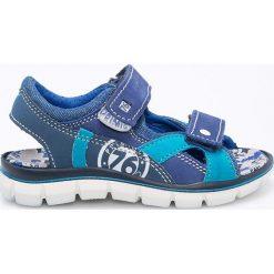 Primigi - Sandały dziecięce. Brązowe sandały chłopięce Primigi, z materiału. W wyprzedaży za 179,90 zł.