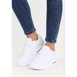 Białe Buty Sportowe Eren. Białe buty sportowe damskie Born2be, z materiału. Za 79,99 zł.