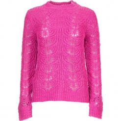 Sweter w kolorze różowym. Czerwone swetry oversize damskie marki Vero Moda, xs, ze splotem. W wyprzedaży za 65,95 zł.
