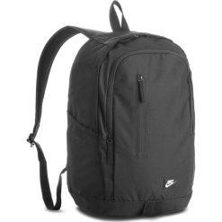 Plecak NIKE - BA4857  001. Czarne plecaki męskie Nike, z materiału, sportowe. Za 109,00 zł.