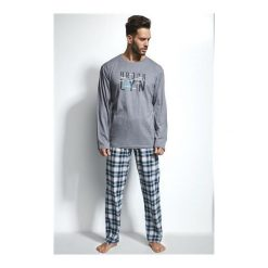 Piżama Long Island 2 124/108. Niebieskie piżamy męskie marki Cornette. Za 116,90 zł.