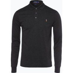 Polo Ralph Lauren - Męska koszulka polo – Slim fit, szary. Szare koszulki polo marki Polo Ralph Lauren, l, z bawełny, z długim rękawem. Za 399,95 zł.