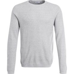 Swetry klasyczne męskie: Selected Homme CREW NECK Sweter egret/light grey melange