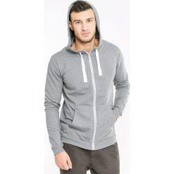 Męska bluza MF Grey. Szare bluzy męskie rozpinane marki Astratex, m, prążkowane. Za 123,99 zł.