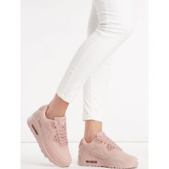Różowe Buty Sportowe Vintage Nilda. Szare buty sportowe damskie marki Born2be. Za 99,99 zł.