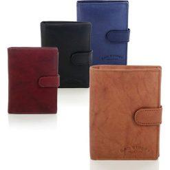 Skórzany portfel męski Bag Street Niebieski. Niebieskie portfele męskie marki Bag Street, ze skóry. Za 39,00 zł.