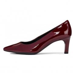 Geox Czółenka Damskie Bibbiana 41 Burgund. Czerwone buty ślubne damskie Geox, na wysokim obcasie. W wyprzedaży za 409,00 zł.
