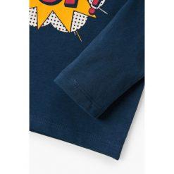 Odzież dziecięca: Mango Kids – Longsleeve dziecięcy Albert 80-104 cm