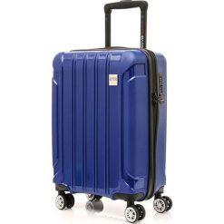 Walizka Tourist II  granatowa. Niebieskie walizki marki SWISSBAGS. Za 434,86 zł.
