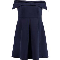 Sukienki hiszpanki: Dorothy Perkins Curve BARDOT Sukienka koktajlowa navy