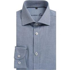 Koszula RICCARDO KDGS000040. Niebieskie koszule męskie Giacomo Conti, m, z bawełny, z długim rękawem. Za 229,00 zł.