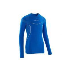 Podkoszulek Keepdry 500. Niebieskie odzież termoaktywna męska KIPSTA, ze skóry. Za 39,99 zł.
