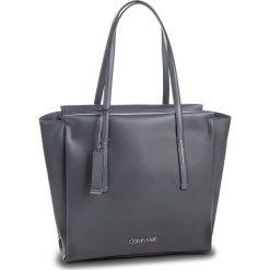 Torebka CALVIN KLEIN - Frame Large Shopper K60K604453 008. Szare shopper bag damskie Calvin Klein, ze skóry ekologicznej, duże. Za 649,00 zł.