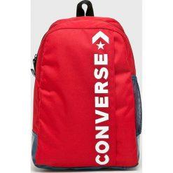 Converse - Plecak. Czerwone plecaki męskie marki Converse, z poliesteru. Za 129,90 zł.
