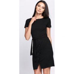 Sukienki: Czarna Sukienka Human Nature