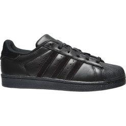 Buciki niemowlęce chłopięce: Adidas Buty dziecięce Superstar czarne r. 36 (BZ0358)