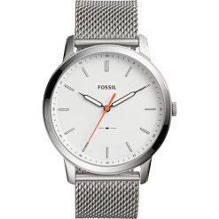 Zegarek FOSSIL - The Minimalist FS5359 Silver/Silver. Różowe zegarki męskie marki Fossil, szklane. W wyprzedaży za 499,00 zł.