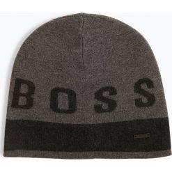 BOSS Casual - Czapka męska – Ebondi, czarny. Czarne czapki męskie BOSS Casual, z napisami, z bawełny, casualowe. Za 259,95 zł.