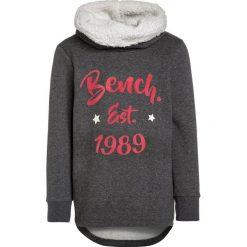 Bench GRAPHIC OVERHEAD Bluza winter antracite marl. Szare bluzy chłopięce Bench, z bawełny. W wyprzedaży za 156,75 zł.