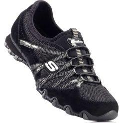 Buty wsuwane Skechers bonprix czarny. Szare buty sportowe damskie marki bonprix, z materiału. Za 189,99 zł.
