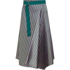 Sportmax Code PERE Spódnica trapezowa dark green. Zielone spódniczki trapezowe Sportmax Code, z materiału. Za 809,00 zł.