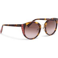 Okulary przeciwsłoneczne FURLA - Rialto 995306 D 238F REM Havana 003. Brązowe okulary przeciwsłoneczne damskie marki Furla. Za 850,00 zł.