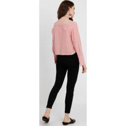 Lost Ink Petite HIGH WAIST Jeans Skinny Fit black. Czarne jeansy damskie Lost Ink Petite, z podwyższonym stanem, petite. Za 149,00 zł.