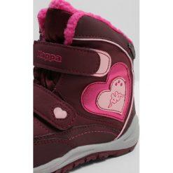 Kozaki dziewczęce: Kappa VALENTINE TEX  Śniegowce dark red/pink